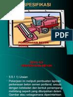 179040864 Spesifikasi Perk Beton Semen Ppt