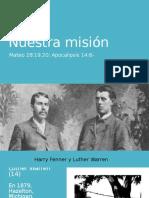 20170513 Misión Jóvenes Adventistas