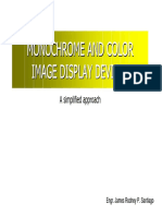 Monochrome and Color Image Displays