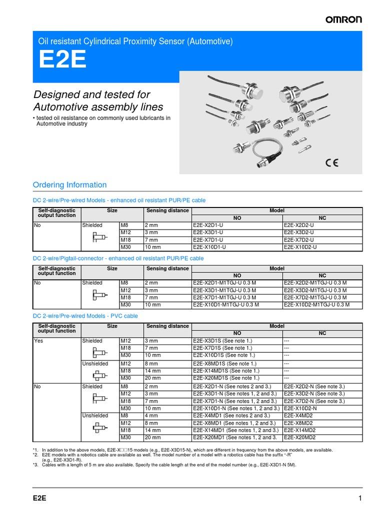 Proximity Omron e2e | Bipolar Junction Transistor | Power Supply