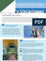 Curso de Fotografia Viajes y Vacaciones Canon.