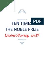 Ten Times the Nobel Prize