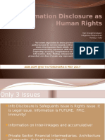 Information Disclosure as Human Rights