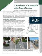 Ficha 2 Vías Peatonales Accesibles