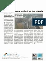 La Libre - Panneau Antibruit R9 - Mai 2017