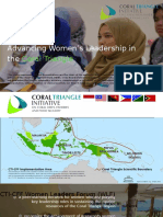 Advancing Women's Leadership in the Coral Triangle