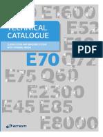 Technical Catalogue E70 857