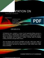 Presentation on GHARANA[1]