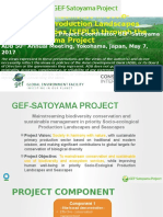 Facilitating Resilience in Socio-ecological Production Landscapes and Seascapes (SEPLS) through the GEF-Satoyama Project