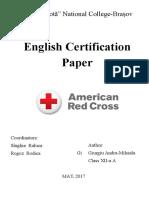 Andra Giurgiu Certification