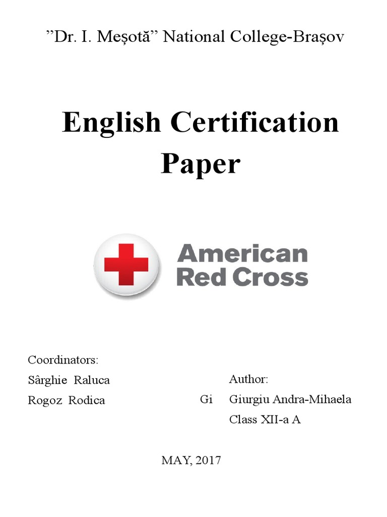 Andra giurgiu certification american red cross international andra giurgiu certification american red cross international red cross and red crescent movement 1betcityfo Image collections
