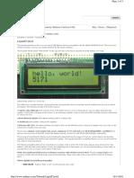 08 - LCD Tutorial