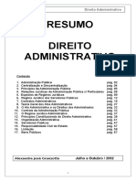 Sebenta de Direito Administrativo