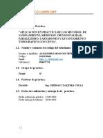 Informe01alineamientoylevantamientoconcinta 151109160944 Lva1 App6891