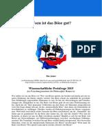 Filosofia - Flyer Alemão, Hannover