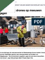 Vlaams Belang vraagt waar de beloofde drones blijven om de meeuwenoverlast in Blankenberge te bestrijden