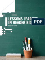 PubMatic Lessons Learned in Header Bidding Mar2016