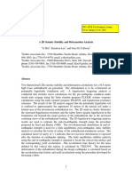 A_2D_Seismic Sability and Deformation Analysis