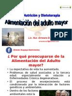 ALIMENTACIÓN DEL ADULTO MAYOR