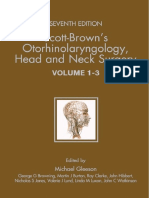 (3 Volume Set) Zelah Pengilley-Scott-Brown's Otorhinolaryngology_ Head and Neck Surgery-CRC Press (2008)