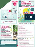 Programme fête des fleurs et des produits du terroir à Riorges
