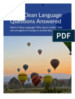 Clean Language Questions Answered - Judy Rees