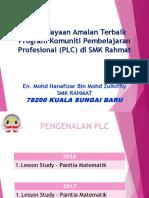 PLC - Lesson Study