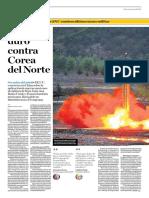 Más Duro Contra Corea Del Norte