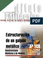 Estructuracion de Un Galpon Metalico