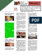 Modelo de Jornal Noticia