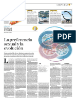 La Preferencia Sexual y La Evolución