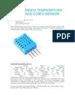Monitorando Temperatura e Umidade Com o Sensor Dht11