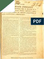 Azuero, Clase Derecho Publico 1840