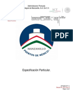 ESPECIFICACIONES PARTICULARES  BITAS