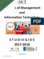 IMIT Studiegids 2017 2018 (15mei17) Accr Minowc
