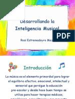 Desarrollando La Inteligencia Musical
