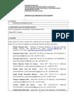 Formulario Para Projeto de Ensino Quinteto de Sopros