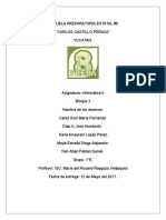 Evalucion diagnostica. olivo
