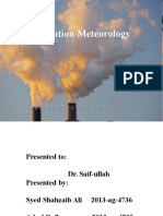 Air Pollution Meterology