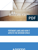 Architectural Interior(Pertinent Laws)