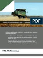 Enquirica - Farmland as a Portfolio Allocation