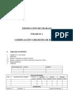 Codificación y Registro de Equipos