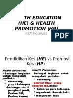 Uwks Fk 2013 1 Health Education & Health Promotion