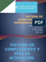 Sistema de Complemento e Hipersensibilidad