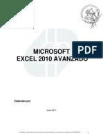 Manual Microsoft Excel 2010 Avanzado