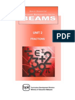 BEAMS_Unit 2 Fractions
