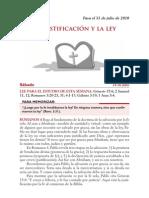 Lección 05 - La justificación y la ley (p/Sáb-31Julio)