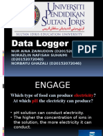 Data Logger Slide