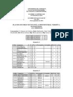 Plan de Estudios Tecnología Agroindustrial UdeA. Oriente