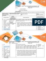 Guia de Actividades y Rúbrica de Evaluación Fase 5. Revisión Final